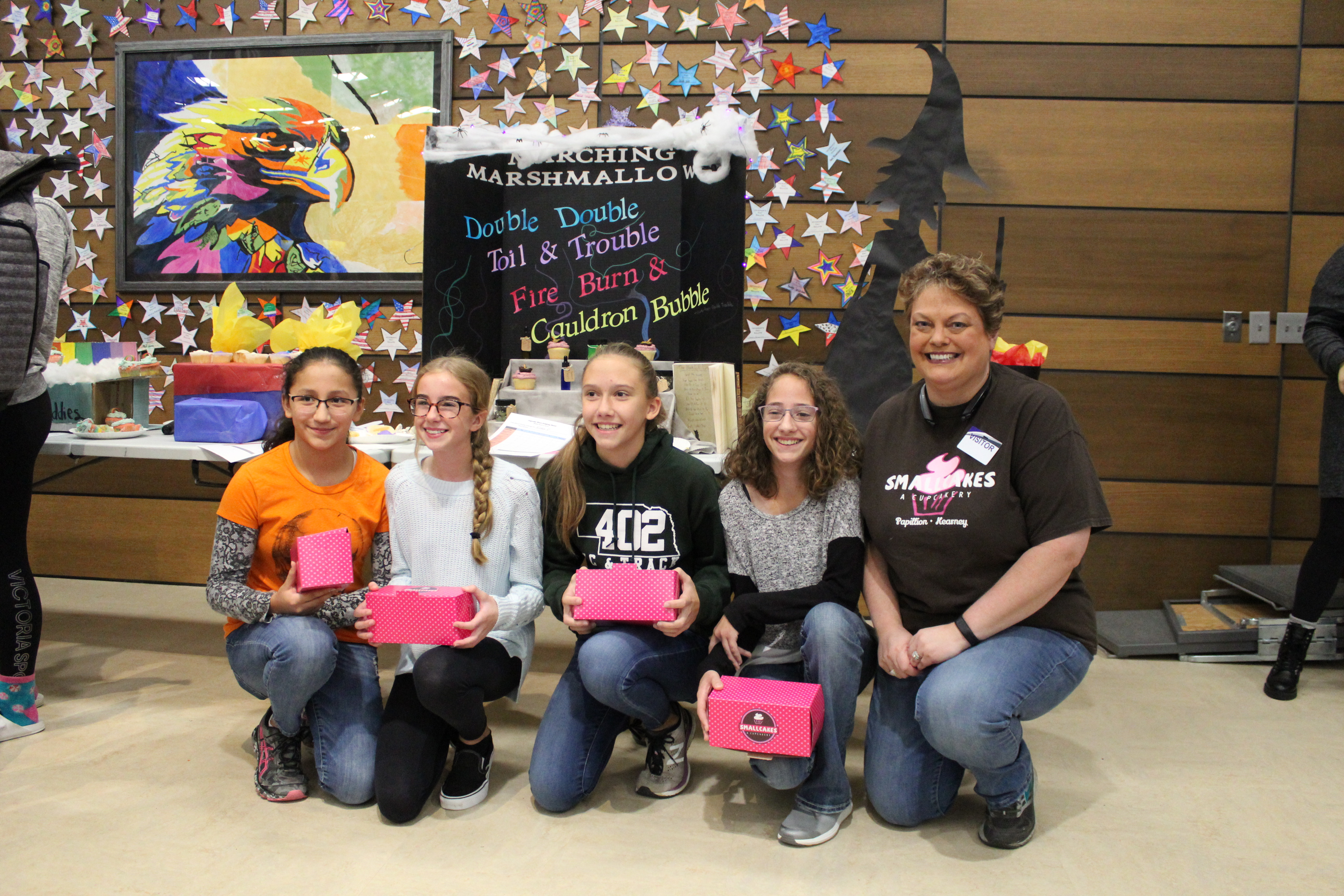 Liberty Middle 8th graders compete in 'Cupcake Wars'