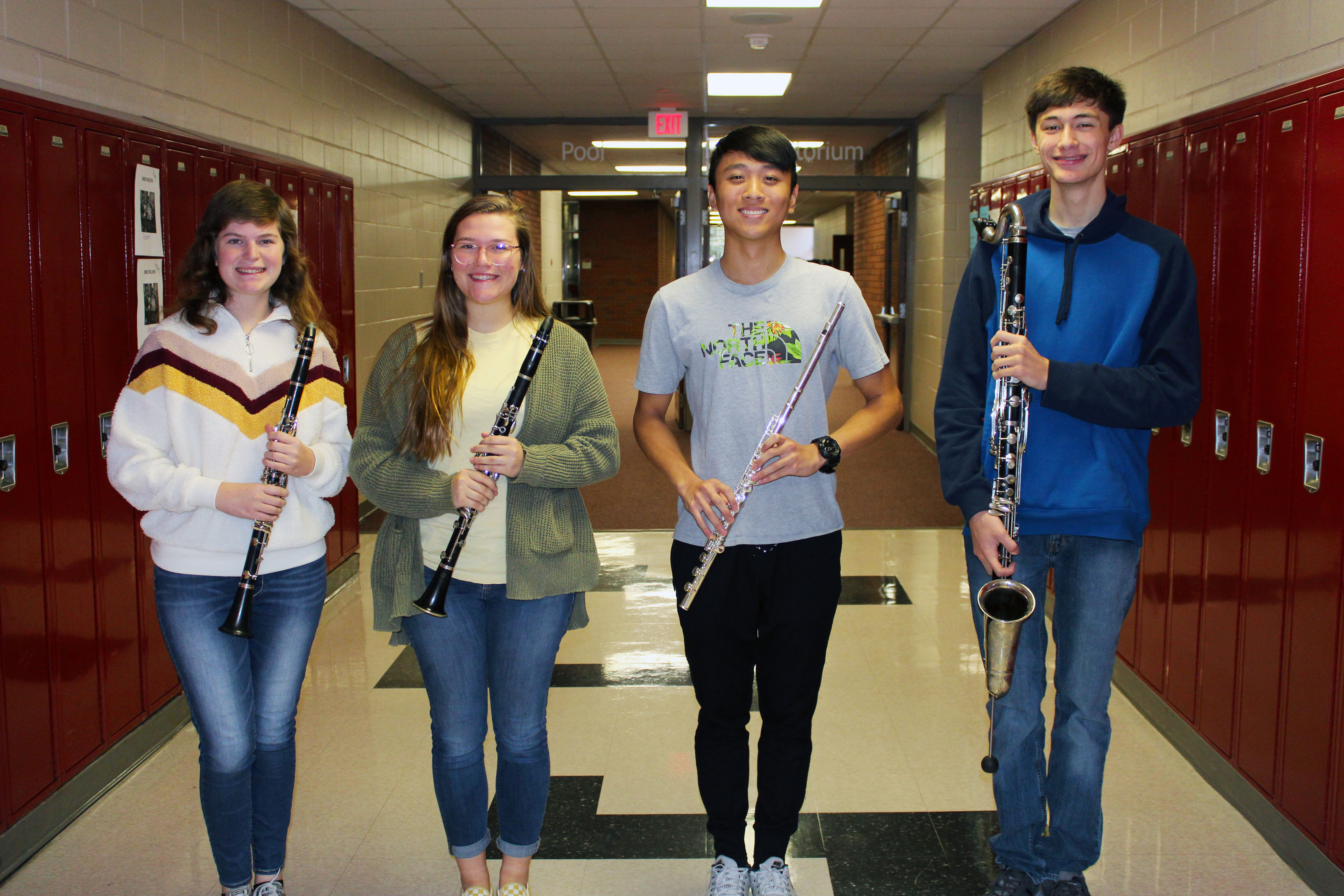 PLHS students who made all state band