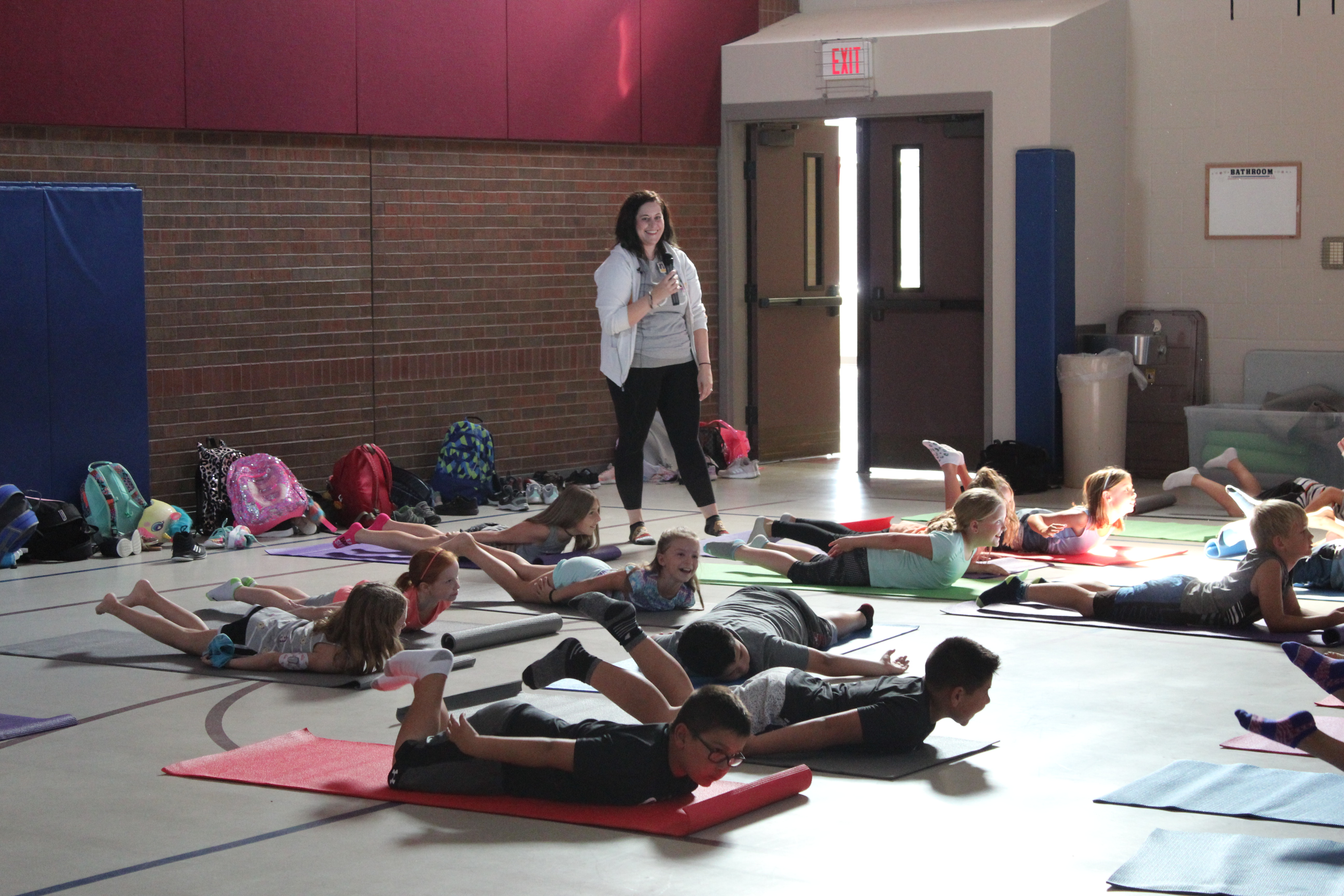 Wellness Club at Rumsey Station Elementary teaches students about mindfulness