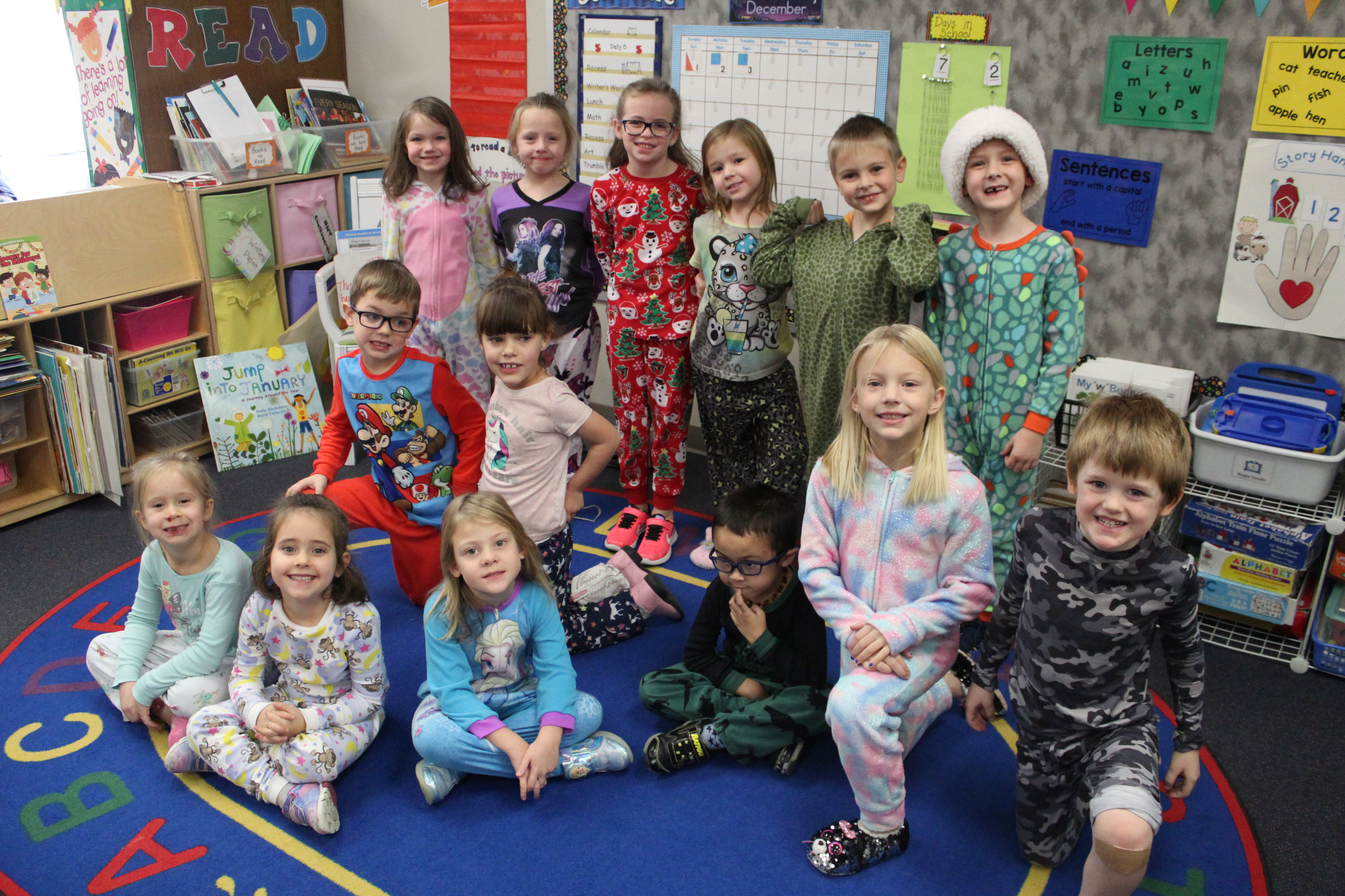 Trumble Park Elementary raises money for Salvation Army with Pajama Day