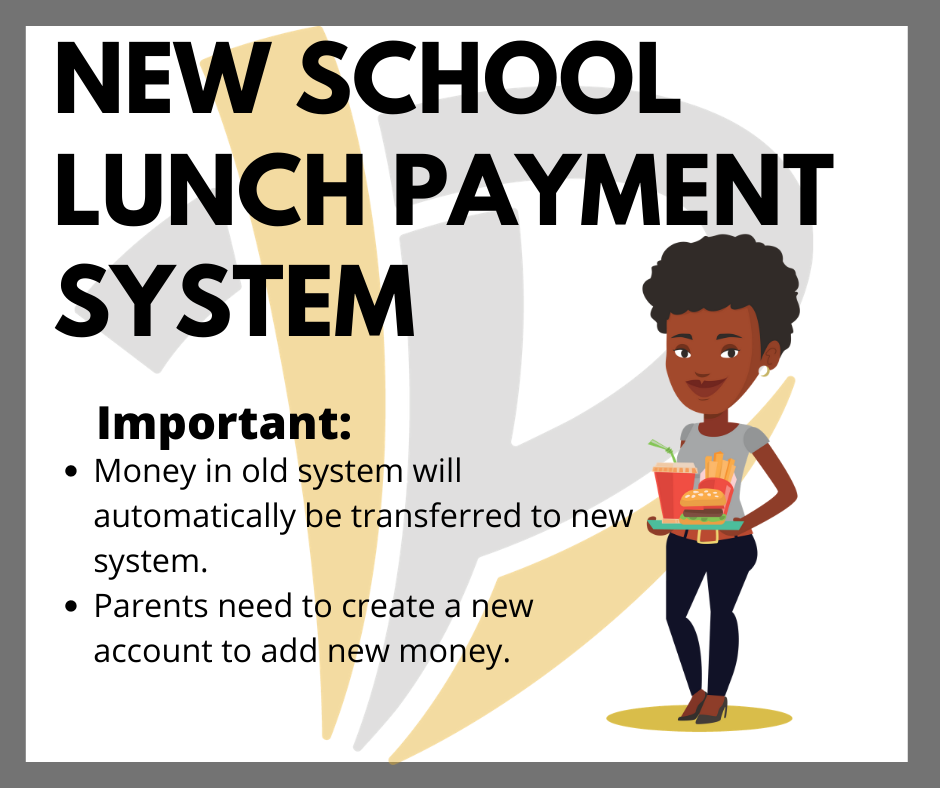 New school lunch payment system available