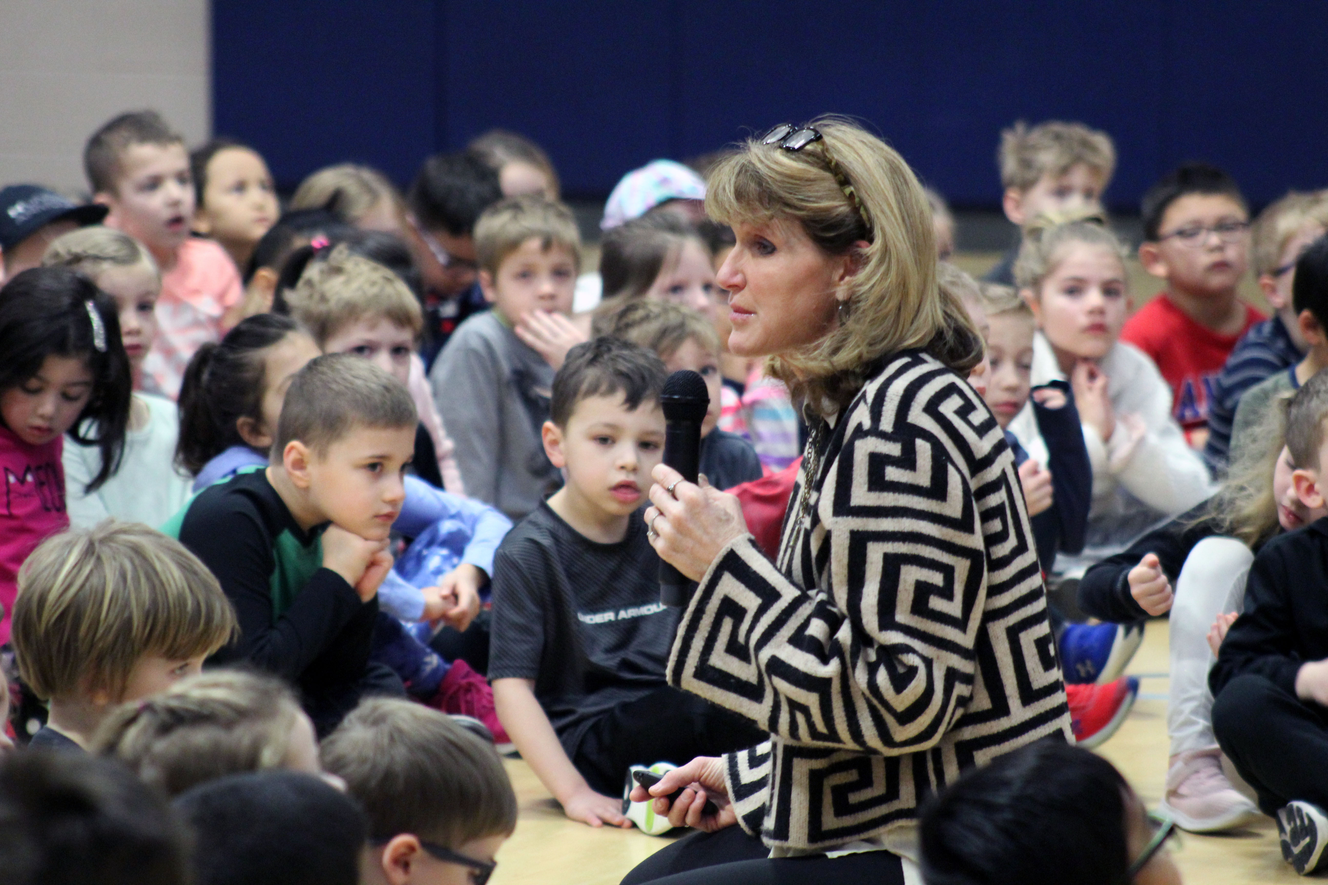 Author Julia Cook visits Prairie Queen students to teach SEL lessons