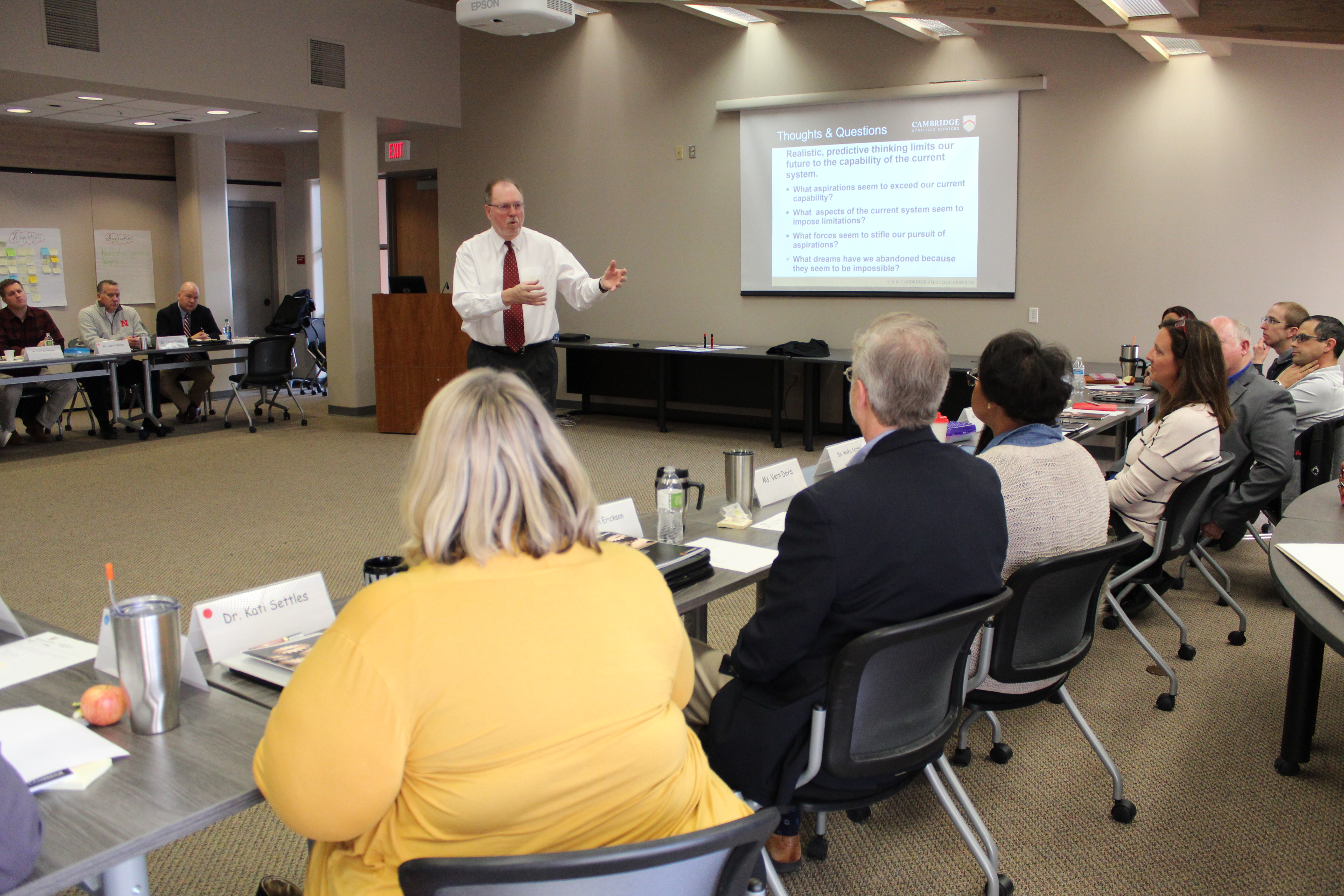 Community members, parents, staff work on new strategic plan