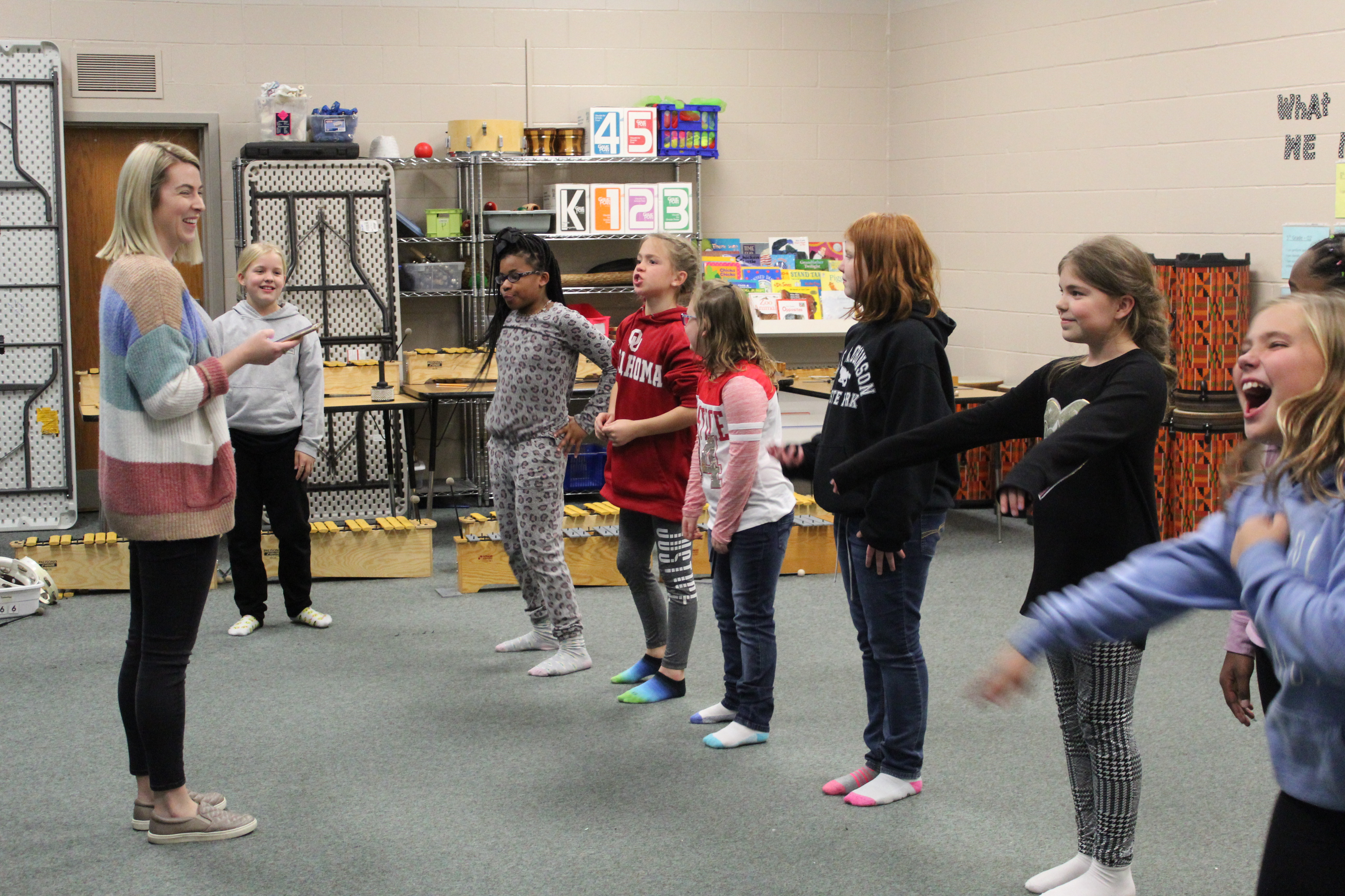 Students learn to dance through dance club