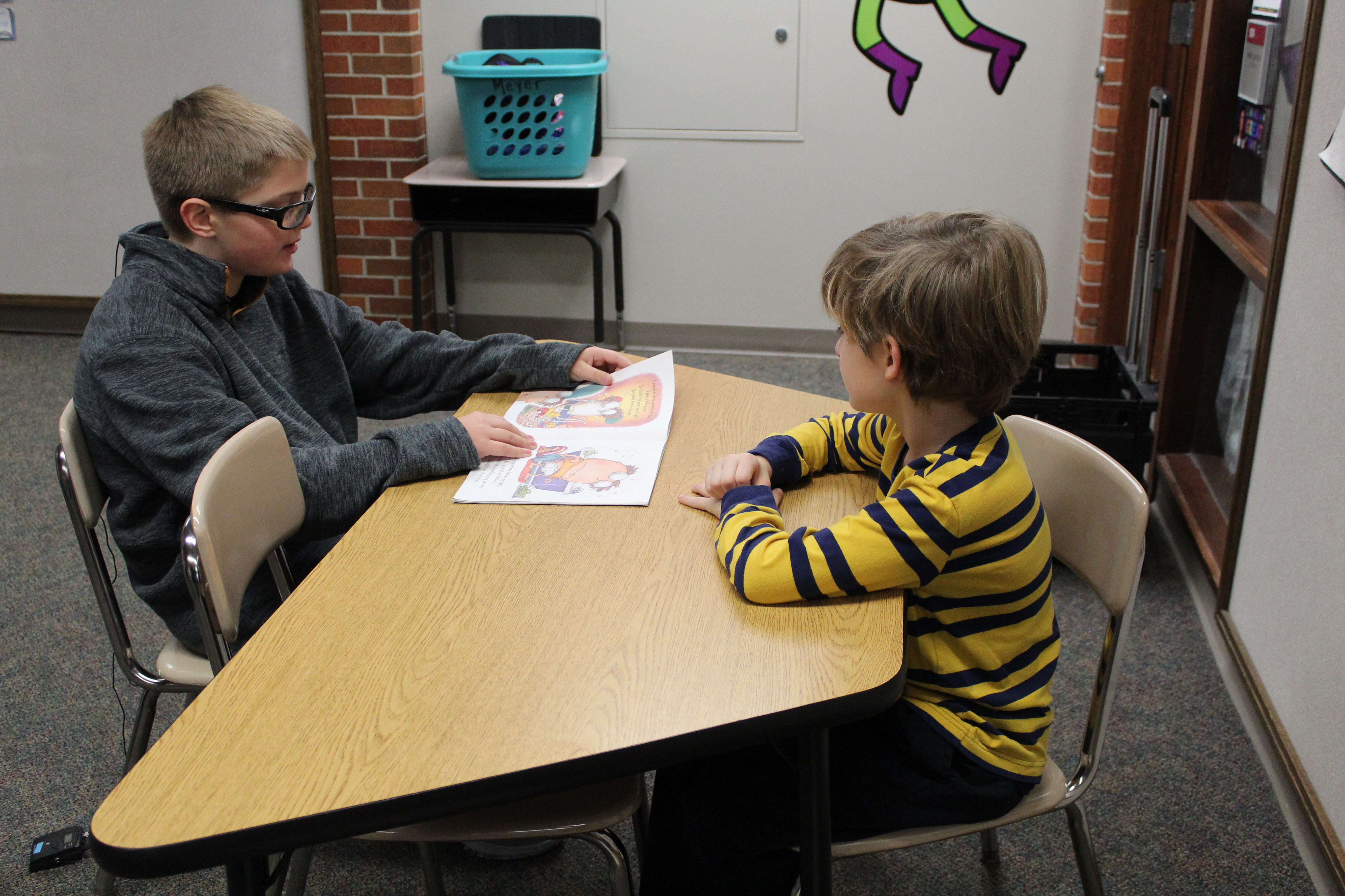 students help younger students