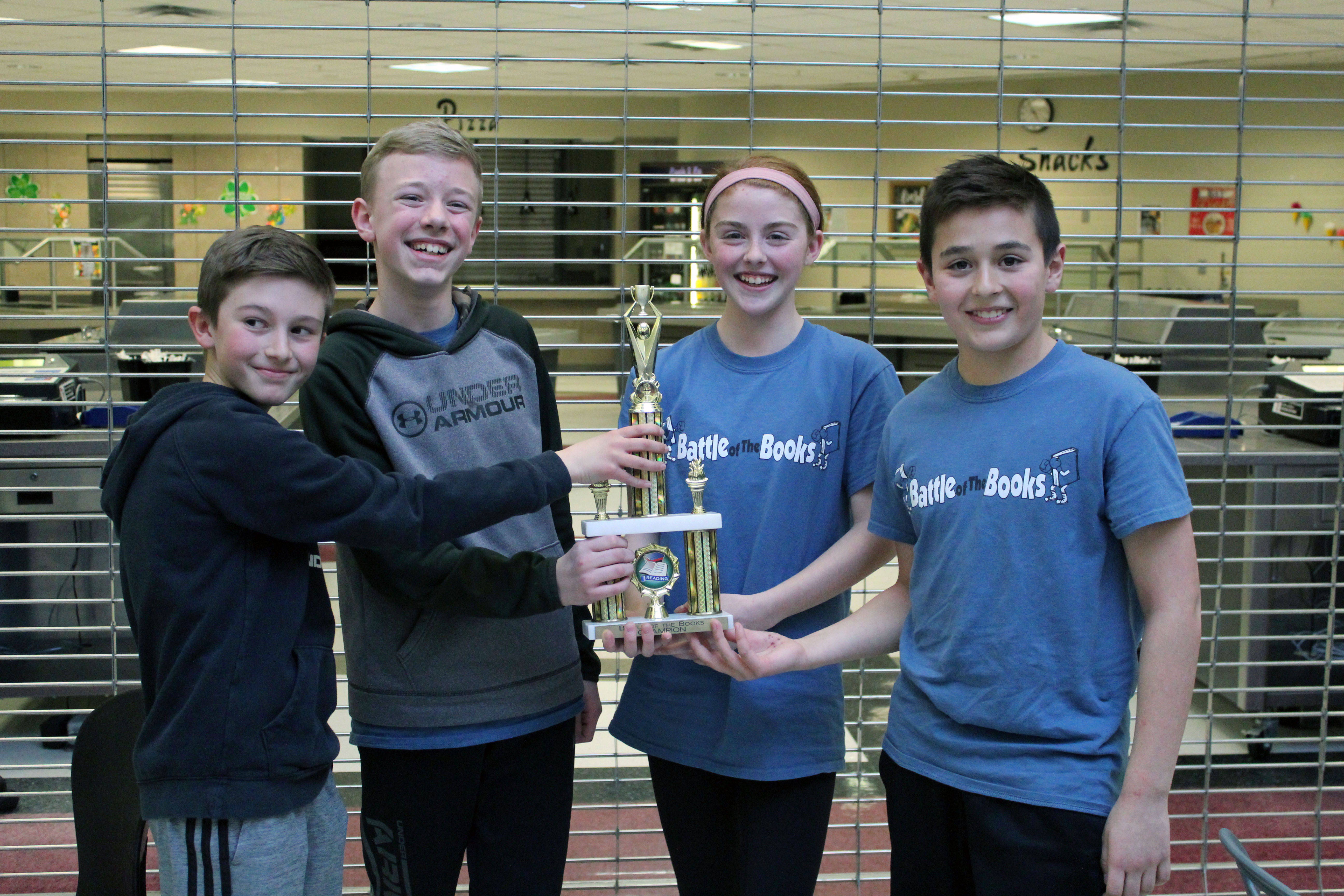 Portal Stars take home Battle of the Books trophy