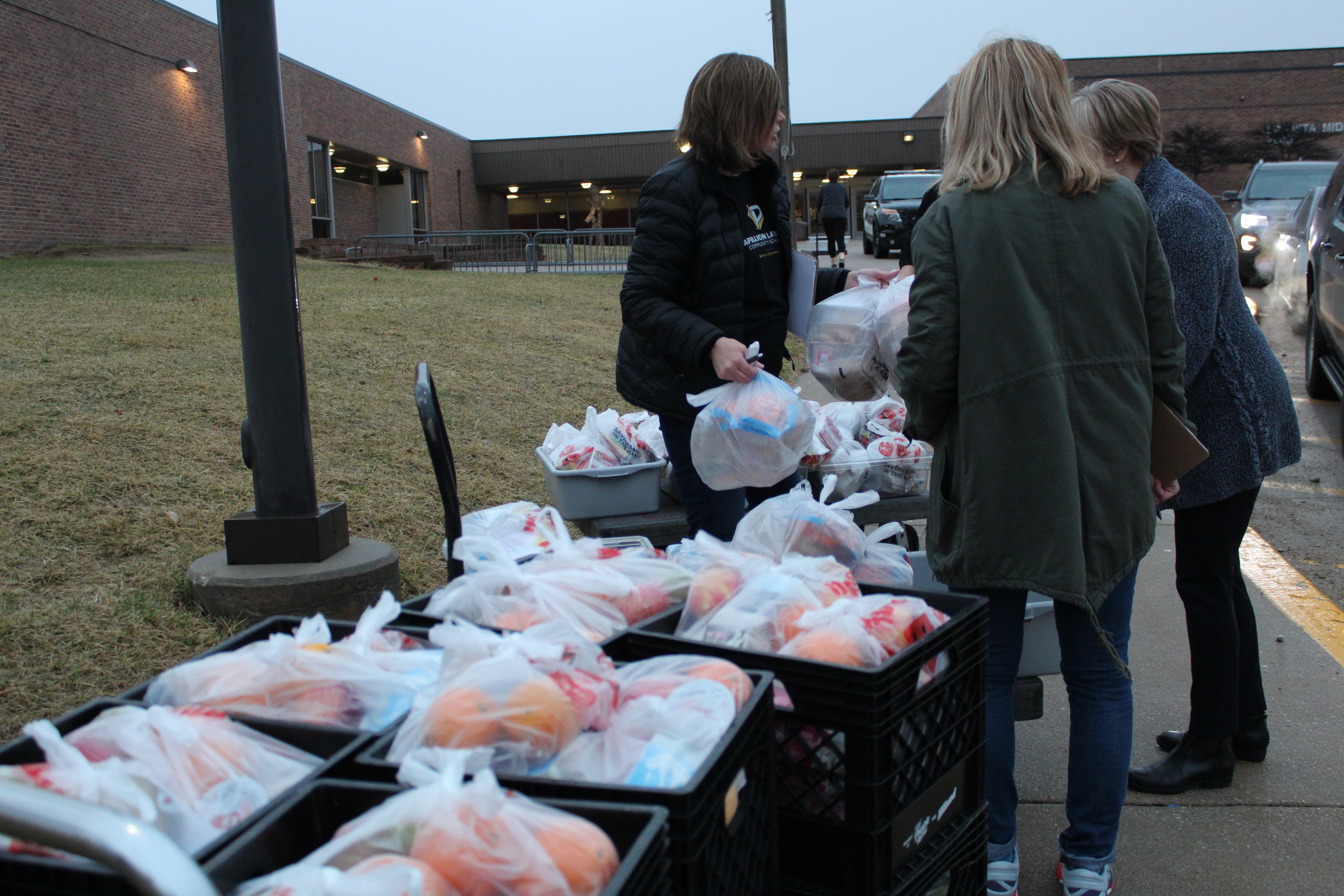 PLCS feeds 2,400 students in first week of meal program