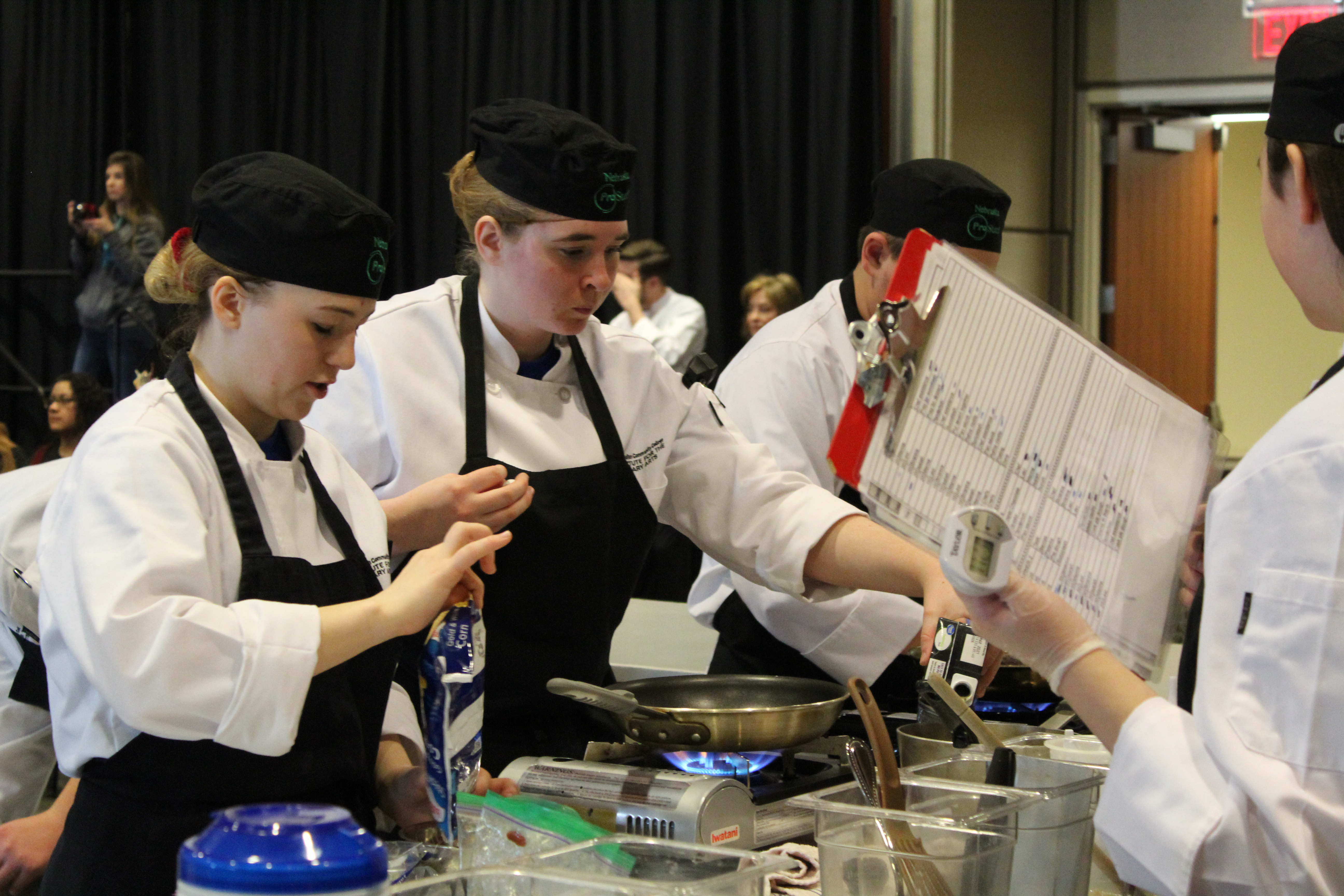 PLSHS ProStart team earns top spot at state competition, moves on to next culinary competition
