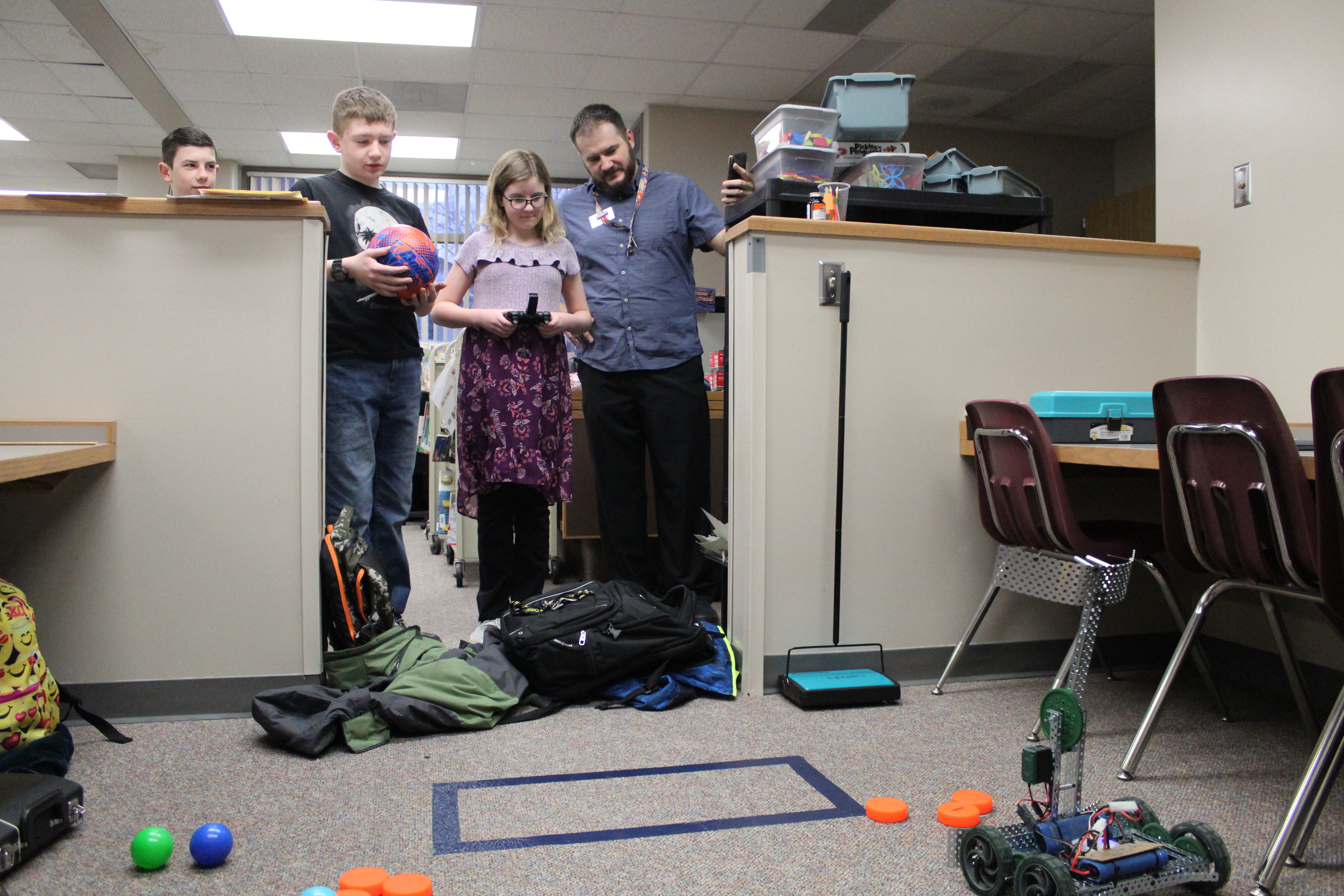 Rumsey Station, Trumble Park librarian leads successful robotic teams