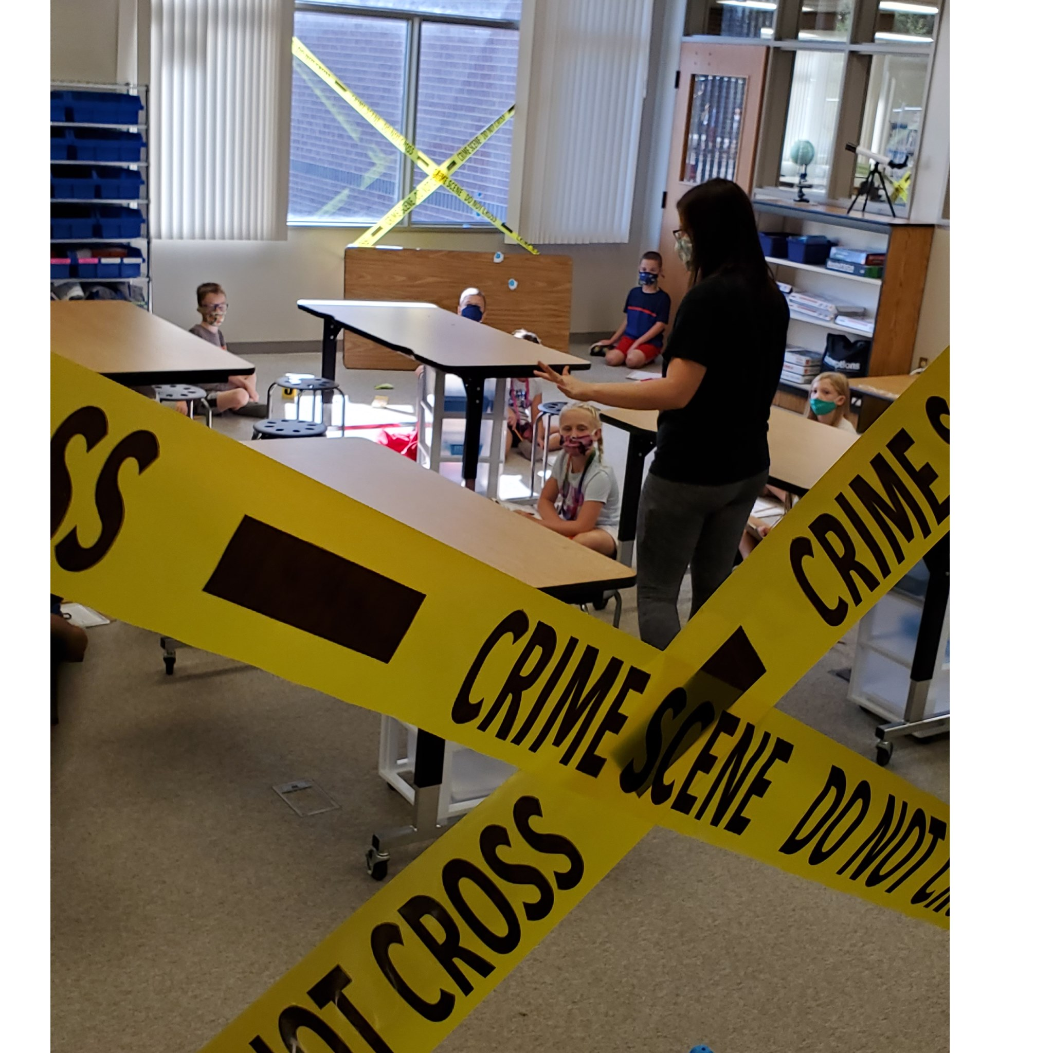 Walnut Creek Elementary 2nd graders solve mystery in CATLab