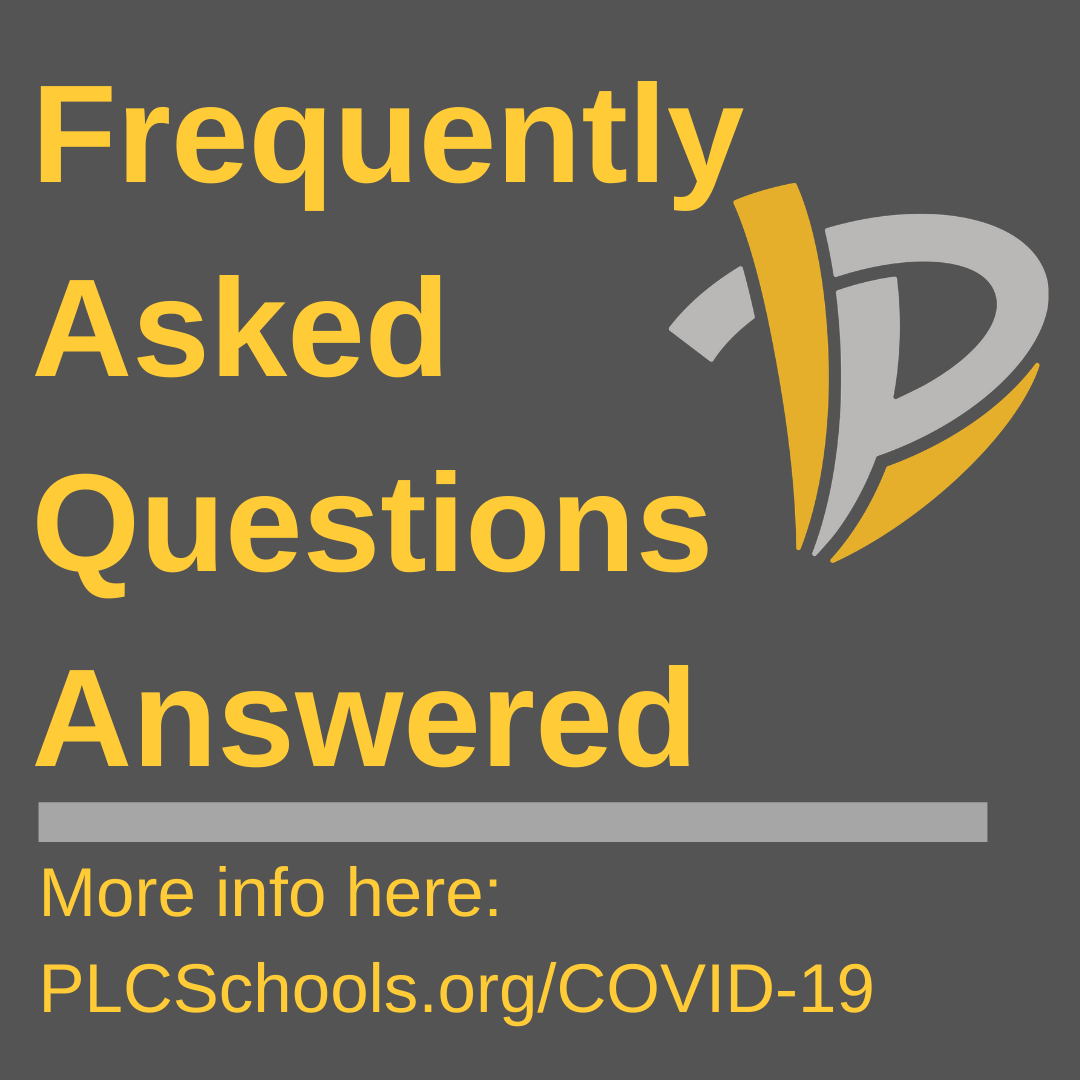 PLCS releases answers to FAQs about COVID-19 school closures