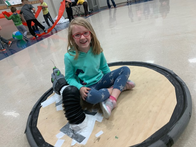 Trumble Park Elementary kindergarteners learn STEAM with Collaboratory
