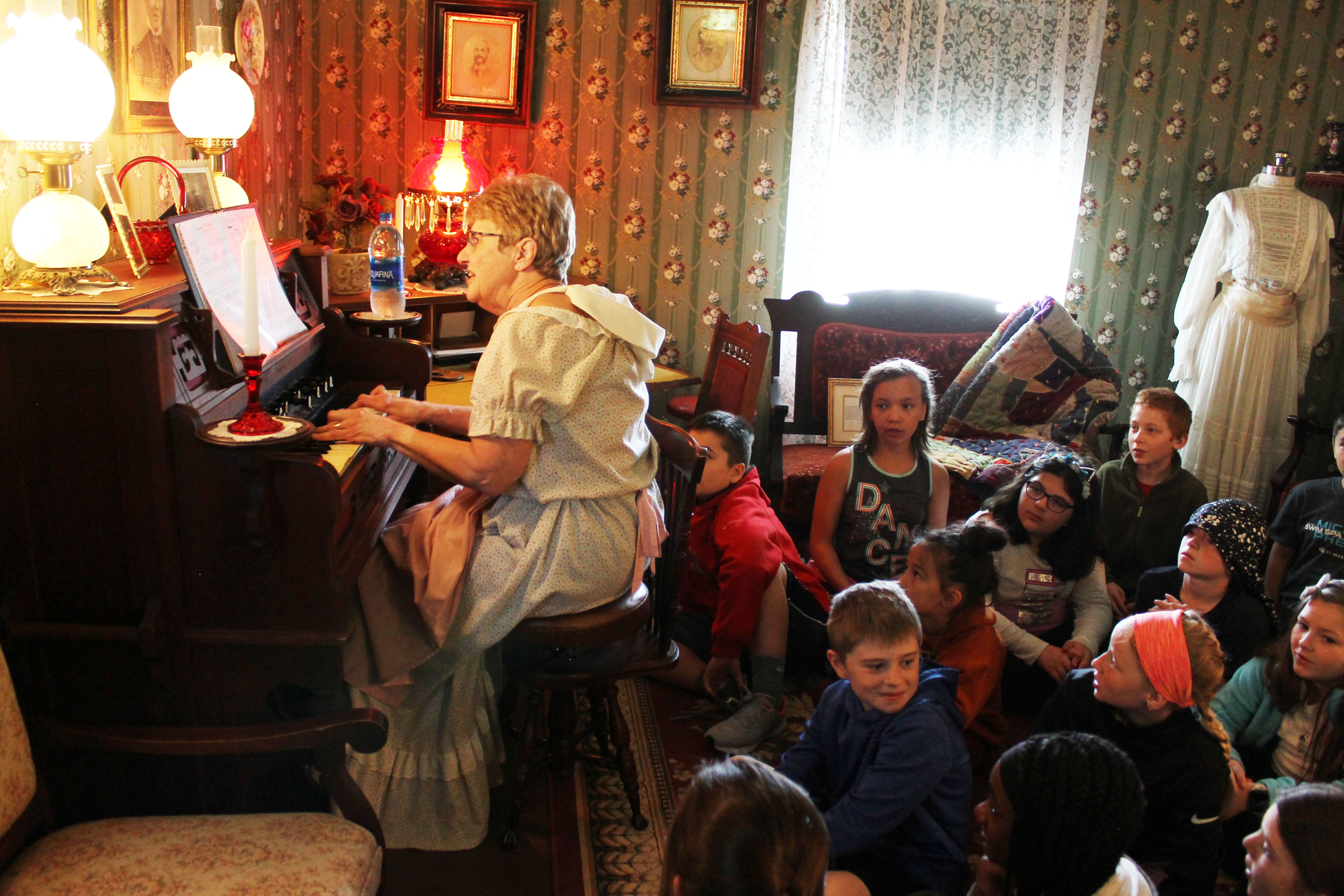 PLCS 4th graders go back in time on field trip