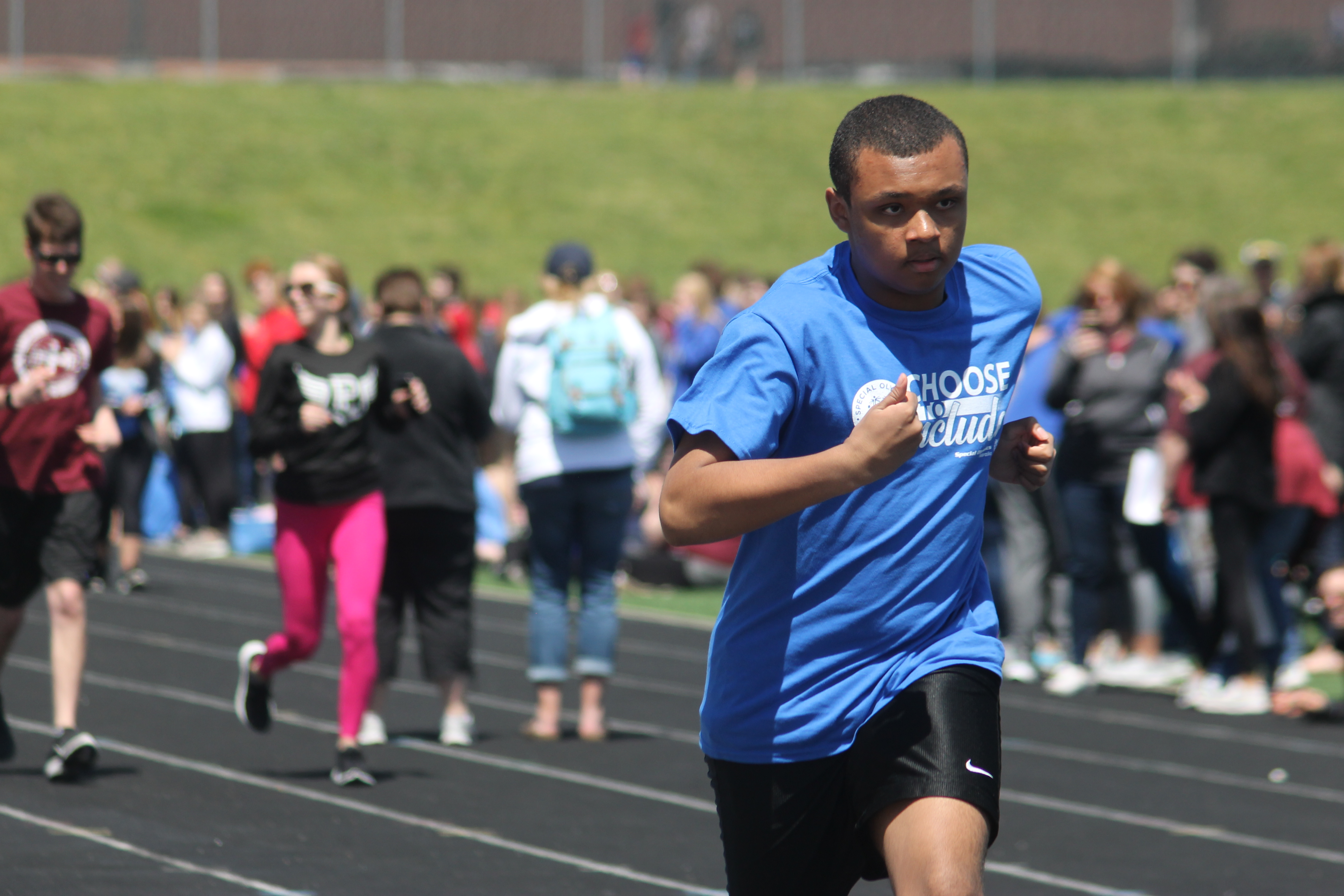 Unified Track Meet draws in dozens of participants