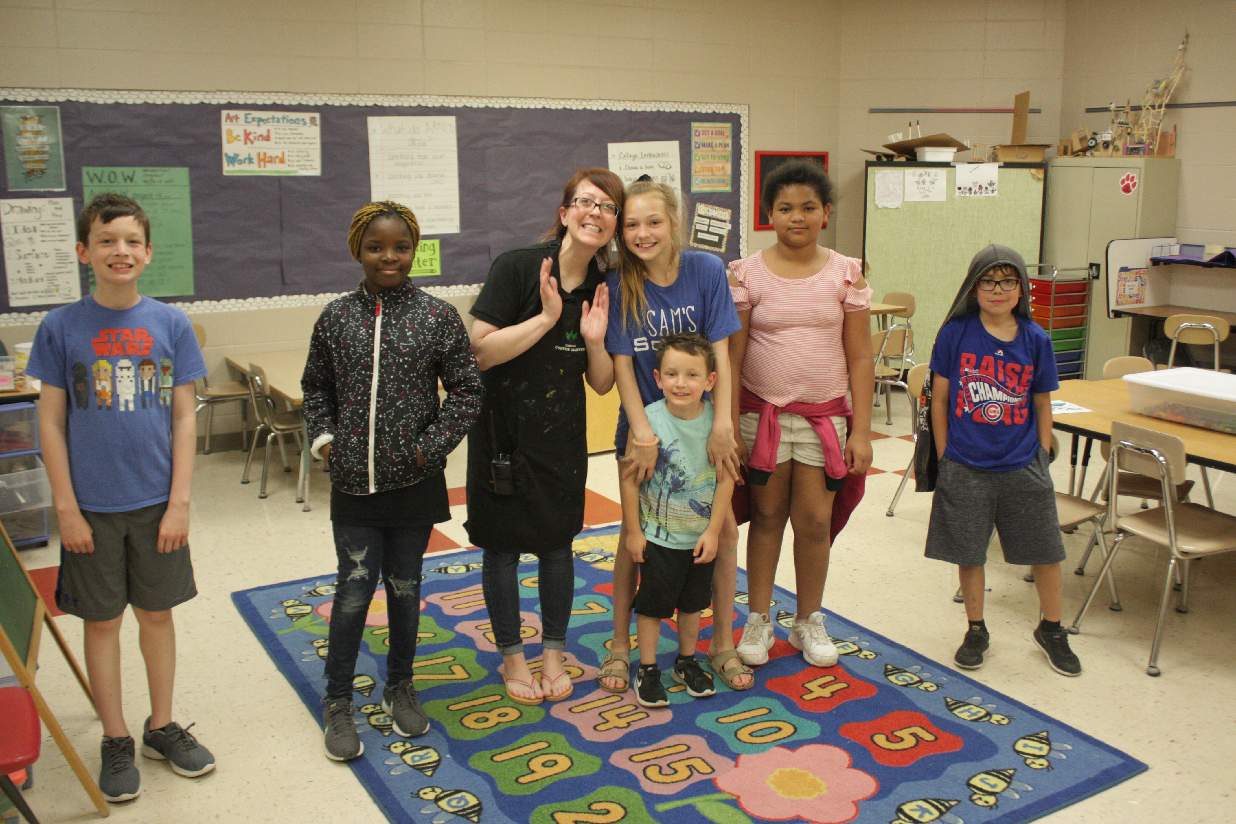 'Wolfpack' student group at La Vista West Elementary creates new relationships