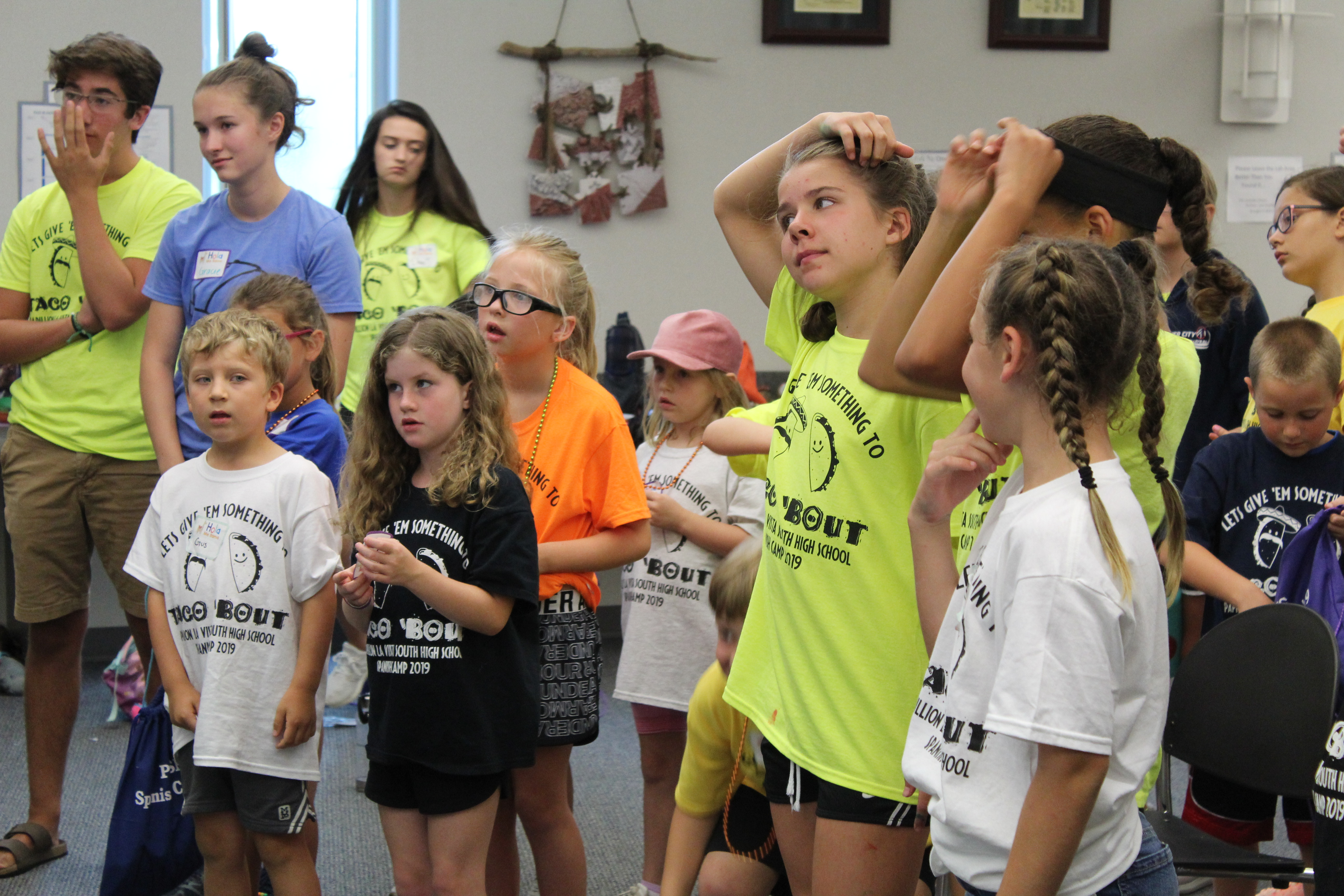 First ever Titan Spanish Camp attracts 45 students across PLCS