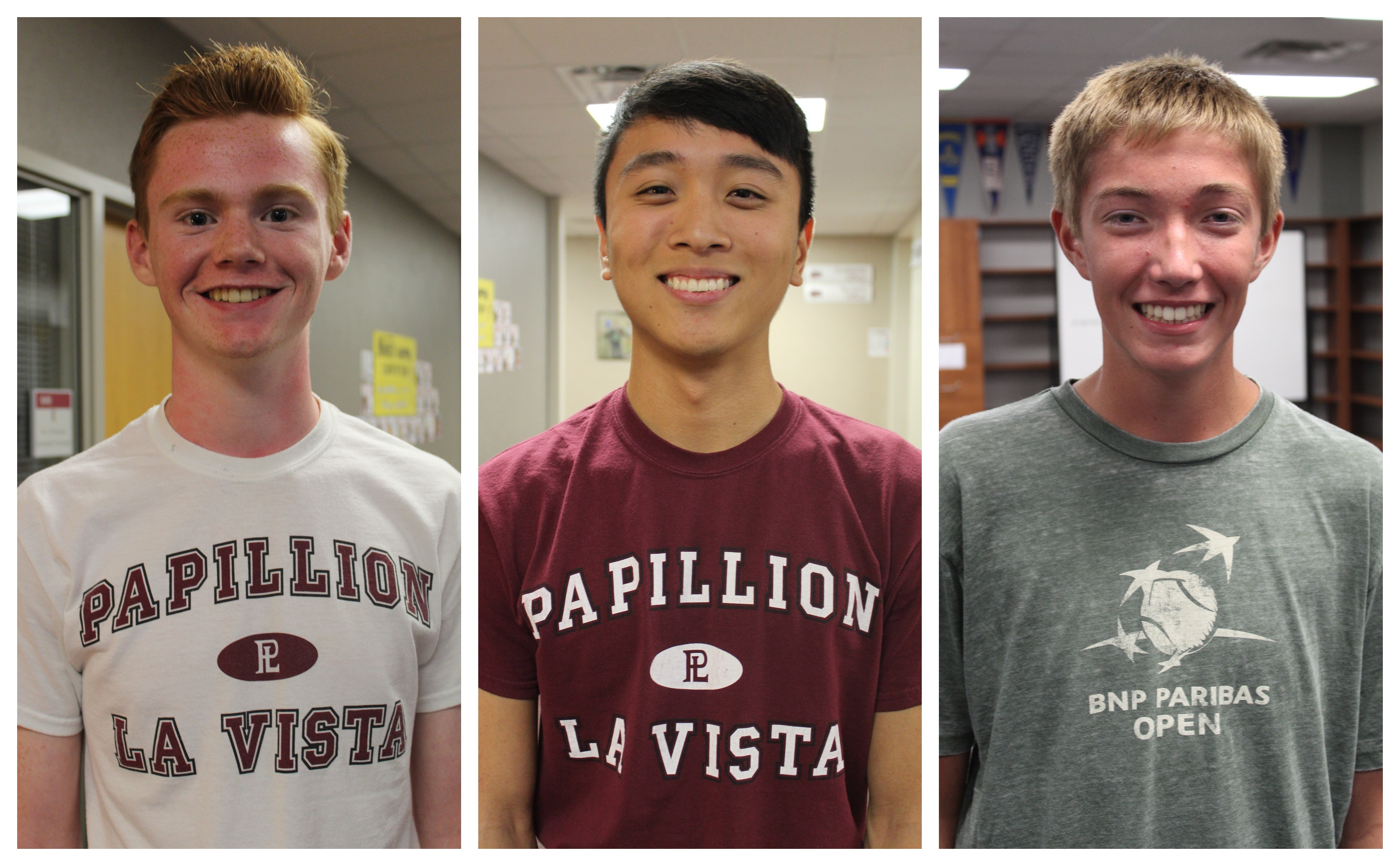 Three students chosen as semifinalist for National Merit Scholarship