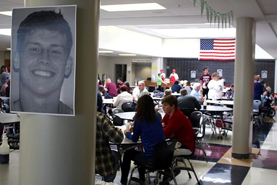 A community fundraiser for Papillion-La Vista High School student Brandon Steburg was held Oct. 23.