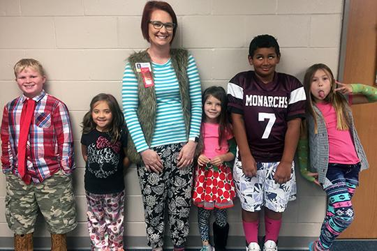 "On Thursday, Oct. 27, students at G. Stanley Hall had ""Don't Get Mixed Up With Drugs Day."""