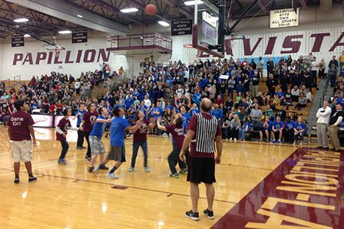 PLHS and PLSHS students came together for a unified basketball game.