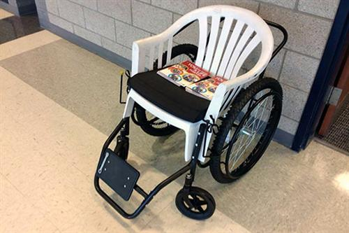 Titan Brew proceeds are supporting the Free Wheelchair Mission, a nonprofit working overseas.