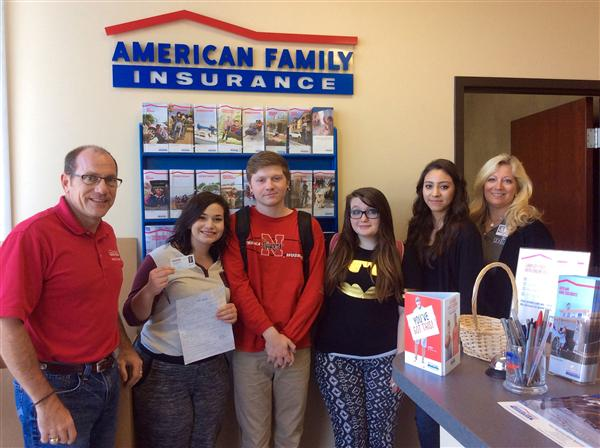 IDEAL students at American Family Insurance
