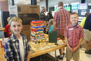 Students show their HAL GEP Project