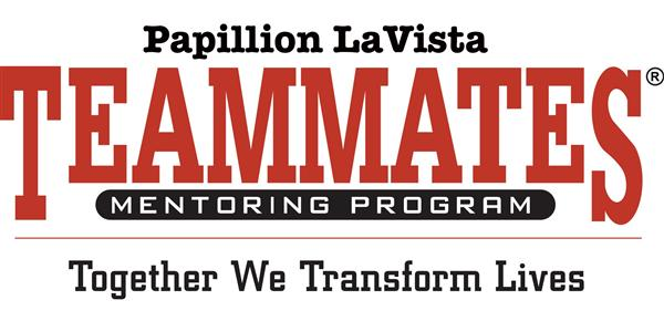 Logo for Papillion La Vista TeamMates Mentoring Program